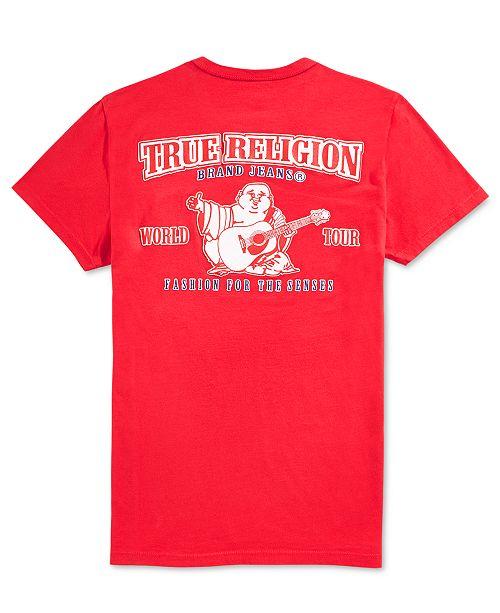 ddf5f353 True Religion Men's Double Puff Graphic T-Shirt & Reviews - T-Shirts ...