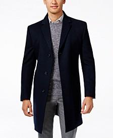 Raburn Wool-Blend Over Coat Slim-Fit