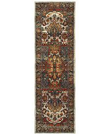 "Oriental Weavers Sedona 6382B 2'3"" x 7'6"" Runner Rug"