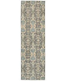 "Oriental Weavers Sedona 6410D 2'3"" x 7'6"" Runner Rug"