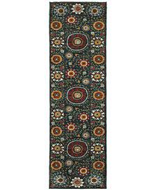 "Oriental Weavers Sedona 6408B 2'3"" x 7'6"" Runner Rug"