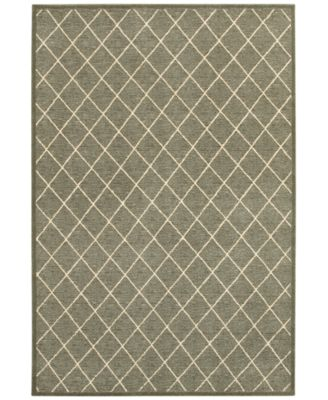 "Ellerson Diamond 6'7"" x 9'6"" Area Rug"