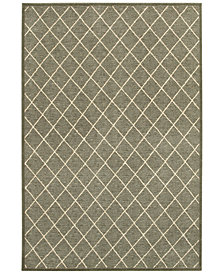 "Oriental Weavers Ellerson Diamond 2'3"" x 7'6"" Runner Rug"