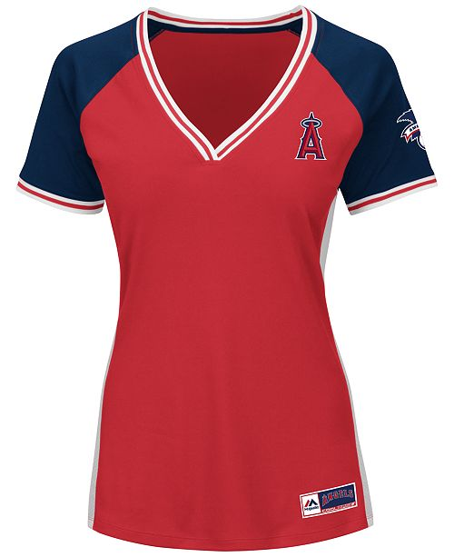 Majestic Women's Los Angeles Angels of Anaheim League Diva T-Shirt