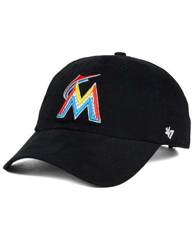 '47 Brand Miami Marlins Gemstone Clean Up Cap