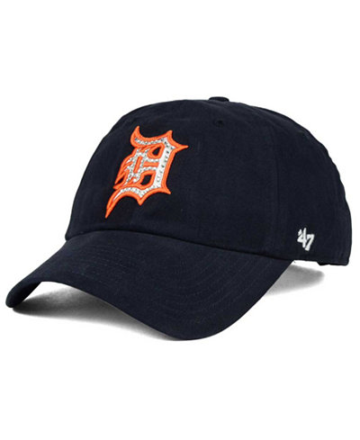 '47 Brand Detroit Tigers Gemstone Clean Up Cap