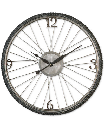 Uttermost Spokes Clock