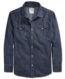 Men's Standard Barstow Western Long-Sleeve Denim Shirt