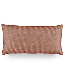 "Hotel Collection Modern Geo Stripe 12"" x 24"" Decorative Pillow, Created for Macy's"