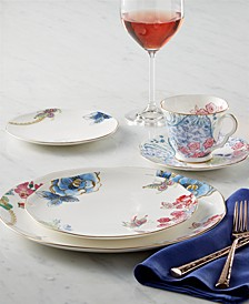 Dinnerware, Butterfly Bloom Collection