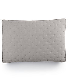 Hotel Collection Eclipse  Quilted Standard Sham, Created for Macy's