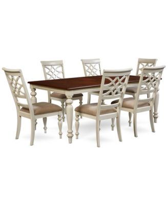 Windward 7-Pc. Dining Set (Dining Table & 6 Side Chairs)
