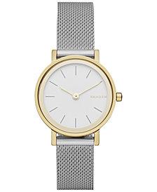 Skagen Women's Hald Two-Tone Stainless Steel Mesh Bracelet Watch 26mm SKW2445