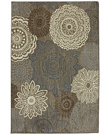 Karastan Euphoria Mossat Brown Area Rug Collection