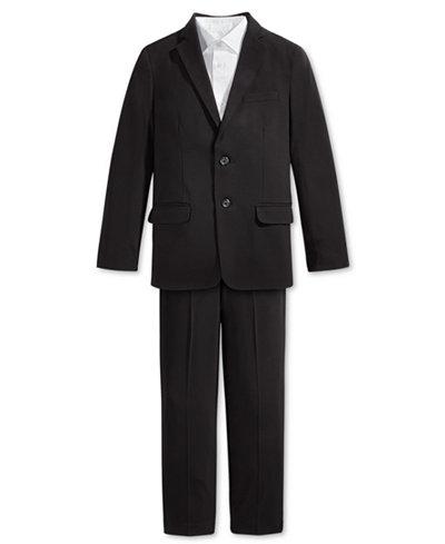 Calvin Klein Sateen Shirt, Bi-Stretch Jacket & Pants, Big Boys