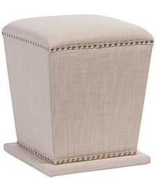 CLOSEOUT! Beverly Ottoman, Quick Ship
