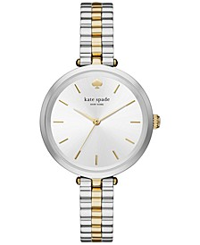 Women's Holland Two-Tone Stainless Steel Bracelet Watch 34mm KSW1119