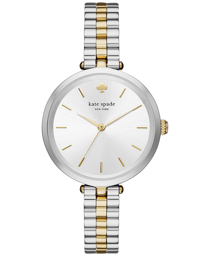 kate spade new york - Women's Holland Two-Tone Stainless Steel Bracelet Watch 34mm KSW1119