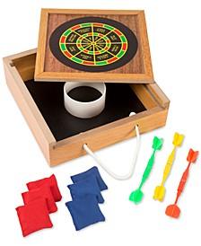"Magnetic Dart Game Set, 8.75"" x 2.5"" x 8.75"""