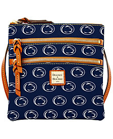 Dooney & Bourke Penn State Nittany Lions Triple Zip Crossbody Bag
