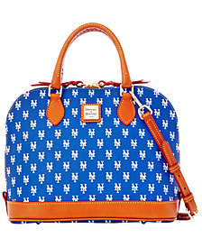 Dooney & Bourke New York Mets Zip Zip Satchel