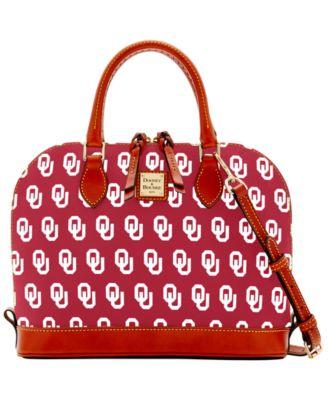 Oklahoma Sooners Zip Zip Satchel