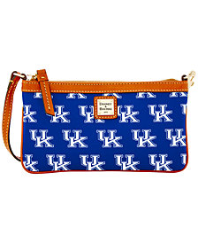 Dooney & Bourke Kentucky Wildcats Large Slim Wristlet