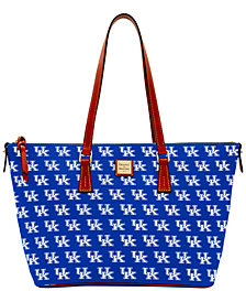 Dooney & Bourke NCAA  Zip-Top Shopper Collection