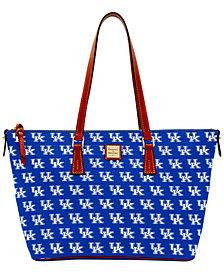 Dooney & Bourke NCAA  Zip-Top Shopper Collection