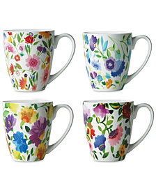 Kim Parker 4-Pc. Mugs Set