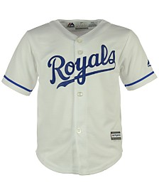 Majestic MLB Kansas City Royals Jersey, Little Boys (4-7)