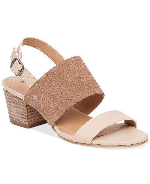 Lucky Brand Women's Gewel Block-Heel Sandals