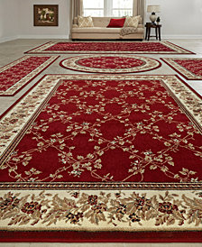 KM Home Vienna Trellis 5-Pc. Rug Set