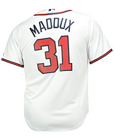Majestic Men's Greg Maddux Atlanta Braves Cooperstown Replica Jersey