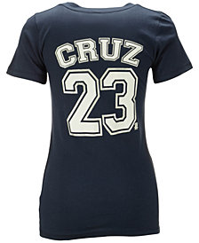 5th & Ocean Women's Nelson Cruz Seattle Mariners Foil Player T-Shirt