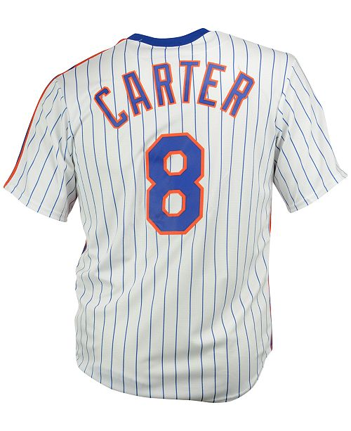 uk availability 01c86 0e752 Majestic Men's Gary Carter New York Mets Cooperstown Replica ...