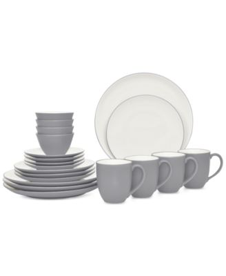 Colorwave 20-Pc. Coupe Dinnerware Set
