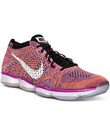 Nike Women's Flyknit Zoom Agility Training Sneakers from Finish Line