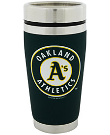 Hunter Manufacturing Oakland Athletics 16 oz. Stainless Steel Travel Tumbler