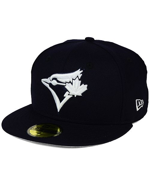 1f12b68fce0 New Era Toronto Blue Jays C-Dub Patch 59FIFTY Fitted Cap   Reviews ...