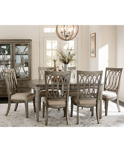 Sensational Kelly Ripa Home Hayley Dining Furniture Collection Interior Design Ideas Philsoteloinfo