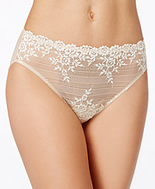 Wacoal Embrace Hi Cut Embroidered Brief 841191