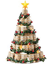 Department 56 Jack Daniel's  Barrel Tree