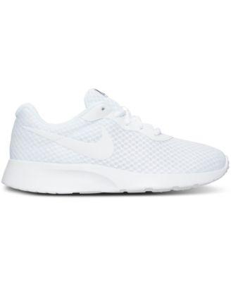 nike women s tanjun casual sneakers from finish line finish line rh macys com