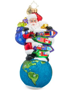 Christopher Radko Santa's Big Adventure Collectible Ornament