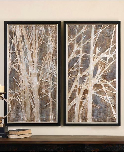 Uttermost Wall Art, Twigs - Wall Art - Macy\'s