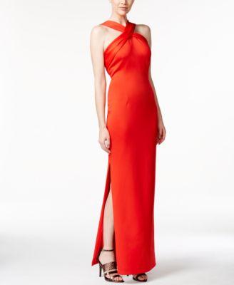 Macy's Calvin Klein Red Dress