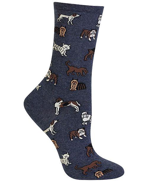 Women's Dogs Trouser Socks
