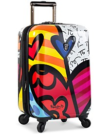 """Heys Britto New Day 21"""" Expandable Hardside Spinner Suitcase"""