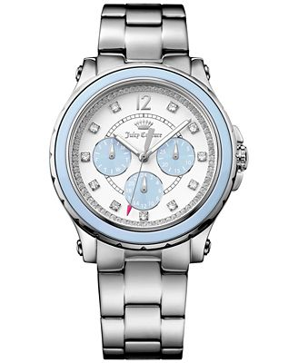 Juicy Couture Women's Hollywood Stainless Steel Bracelet Watch 38mm 1901381